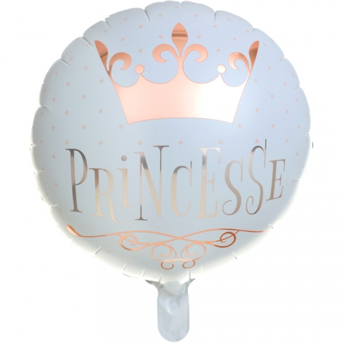 Ballon à Plat Princesse Rose Gold