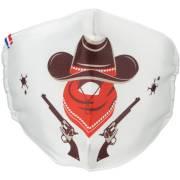 Masque Lavable Indien et Cowboy Taille Unique