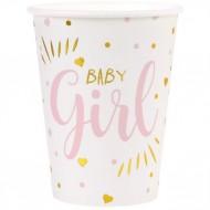 10 Gobelets Baby Girl