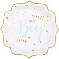 10 Assiettes Baby Boy
