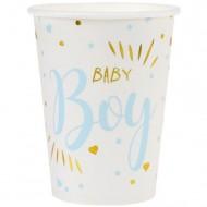 10 Gobelets Baby Boy