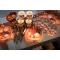 20 Serviettes Citrouille Orange images:#1