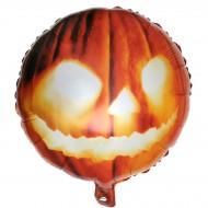 Ballon Hélium Citrouille Orange - Ø45 cm