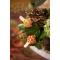 4 Pinces Citrouille/Feuille - Bois/Polyrésine images:#2
