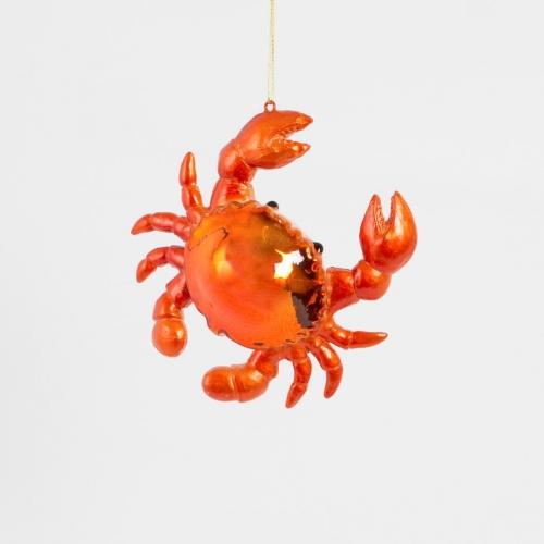 Suspension Crabe (12 cm) - Verre