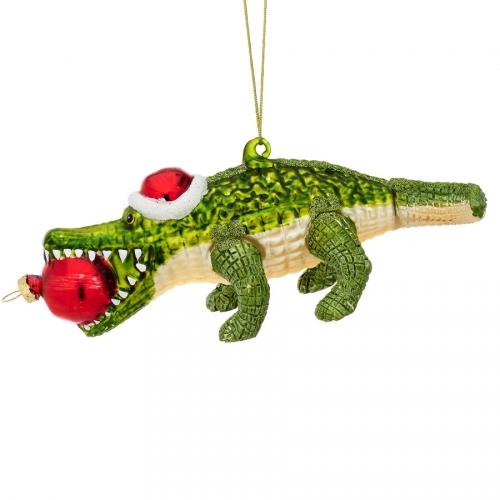 Suspension Alligator (9 cm) - Verre