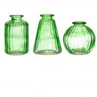 Set de 3 Vases - Vert