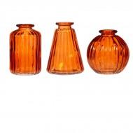 Set de 3 Vases - Ambre