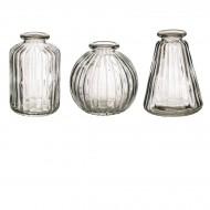 Set de 3 Vases - Transparent