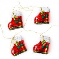 4 Bottes de Noël en Chocolat