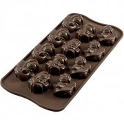 Moule Easy Choc 12 Anges 3D - Silicone