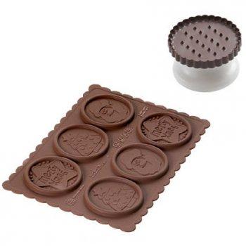Kit Cookie Choc Biscuits Noël avec Livre de recettes