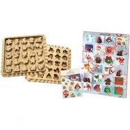 Kit Calendrier de L'Avent + Moule 25 Chocolats