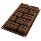 Moule 10 Choco blocks - Silicone