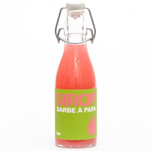 Sirop Barbe à Papa - bouteille 20 cl