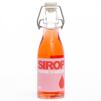 Sirop Pomme d amour - bouteille 20 cl