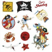 Stickers Capt'n Sharky