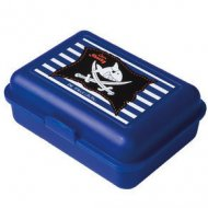 Boîte à goûter bleue Capt'n Sharky