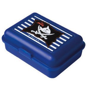 Boîte à goûter bleue Capt n Sharky