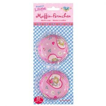 60 Caissettes à Cupcakes Princesse Lillifée