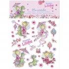 Stickers scintillants Princesse Lillif�e