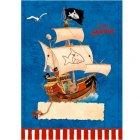 8 Pochettes Cadeaux Capt'n Sharky Bleu