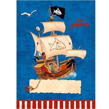8 Pochettes Cadeaux Capt n Sharky Bleu