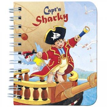 Petit Carnet Capt n Sharky