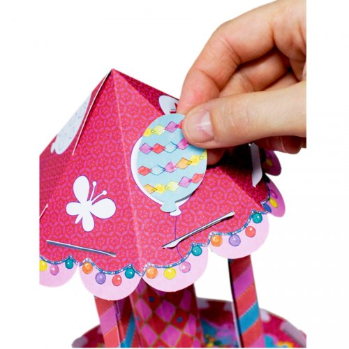 Kit créatif Manège 3D Princesse Lillifée