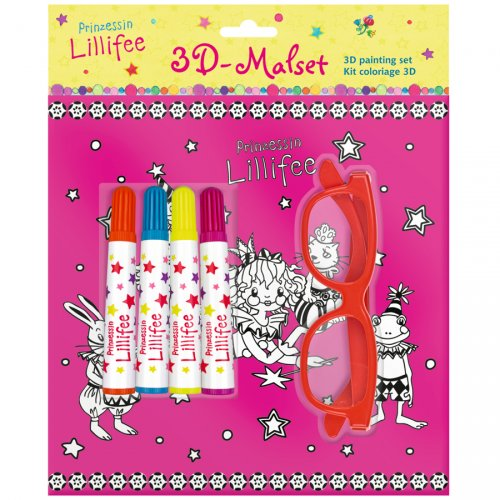 Kit coloriage 3D Princesse Lillifée