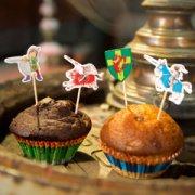 Kit 24 Caissettes et Déco à Cupcakes Vincelot