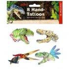 Tatouages mains Dinosaures