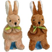 Chauffe-oeuf Lapin et marionette � doigt
