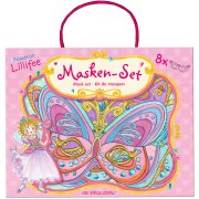 8 Masques Princesse Lillif�e � Colorier
