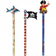 Crayon avec Figurine Capt'ain Sharky