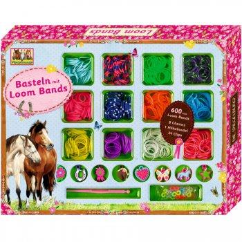 Set Créatif Bracelets Loom et breloques Amis des chevaux