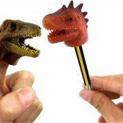 Marionnette de Doigt et Crayon Dino