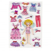 21 Stickers Mousse Princesse Lilliféé