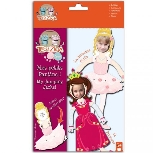 2 Pantins Princesse/Ballerine à Personnaliser