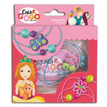 Kit Créa 2 Bracelets Fleur et papillon