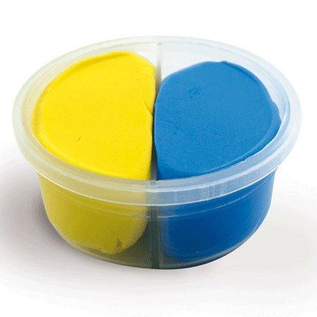 Duo pâte à modeler Jaune/Bleu Padaboo