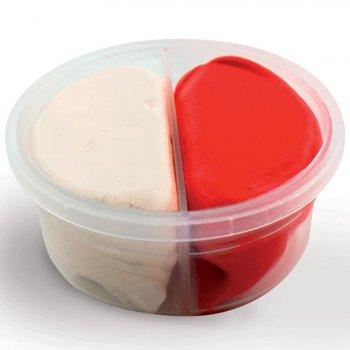 Duo pâte à modeler Blanc/Rouge Padaboo