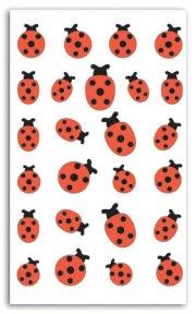 Stickers feutrine Coccinnelle