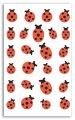 Stickers feutrine Coccinnelle. n°1
