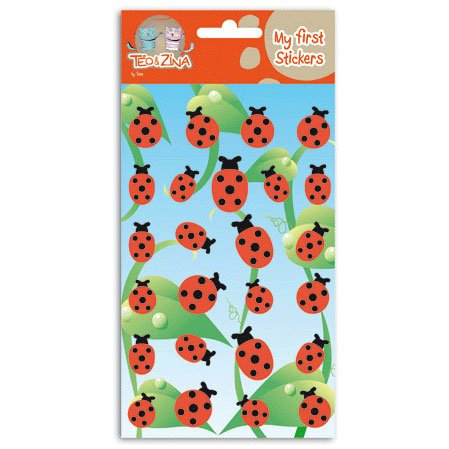 Stickers feutrine Coccinelle
