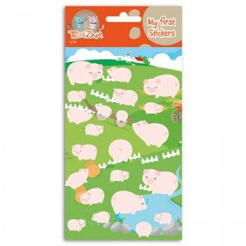 Stickers feutrine Cochons