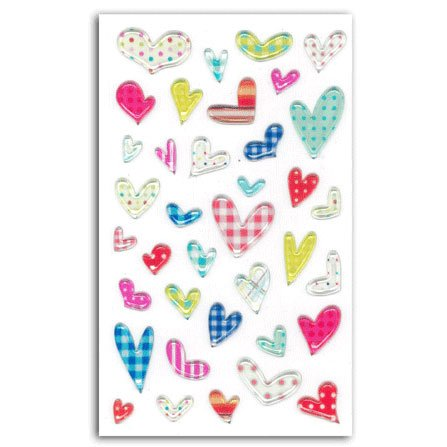 Stickers jelly Coeurs