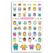 Stickers jelly Robots