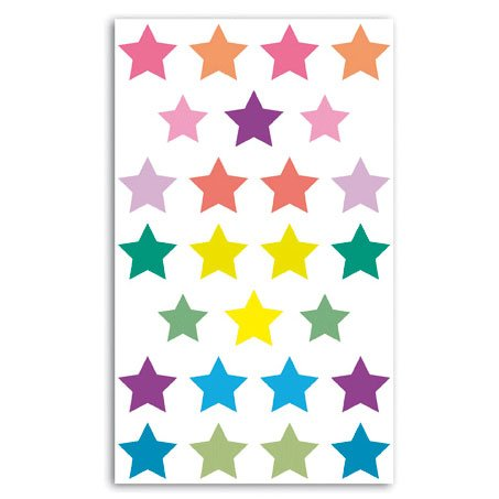 Stickers jelly Etoiles