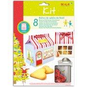 Kit 8 Boites Sablés de Noël